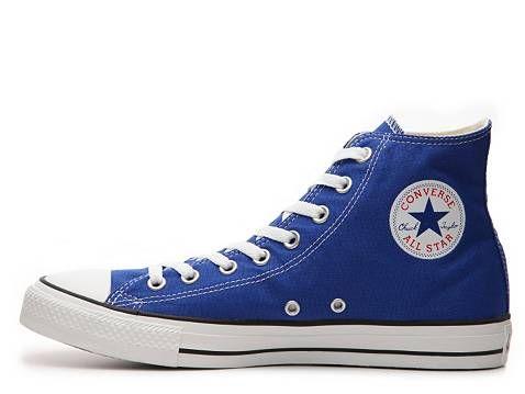 fea9aec26162d4 DSW - Blue Converse Men s Chuck Taylor All Star Hi Tops  44.95 - I am there!