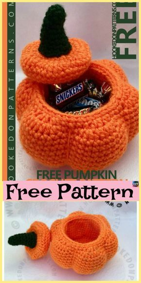 10 Adorable Crochet Pumpkins Free Patterns Amigurumi