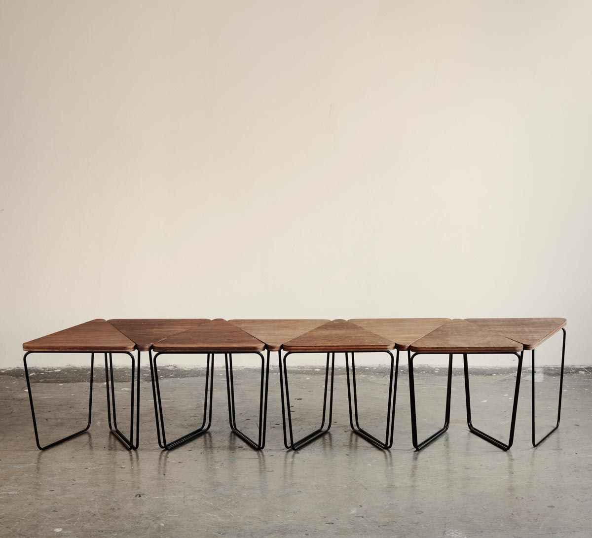 Exceptional The Fractal Modular Table By Sarah Gibson And Nicholas Karlovasitis Of  Design By Them Is A Modular Setting, Using Pattern And Repetition.