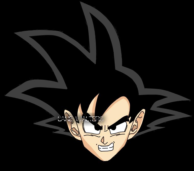 Goku S Head By Dj Telexture On Deviantart Goku Anime Dj