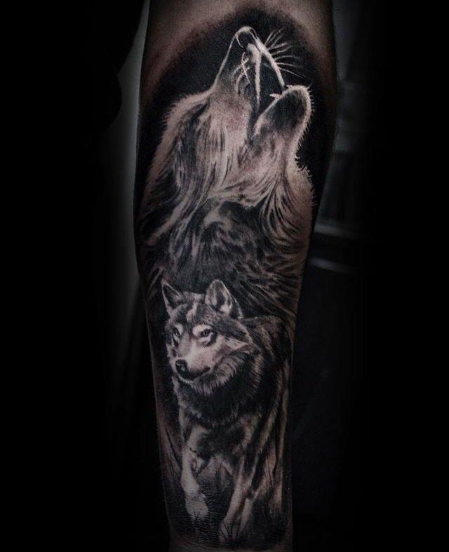 Pin By Kimberly Gillooly On Tattoo Wolf Tattoo Forearm Wolf Tattoos Wolf Tattoo