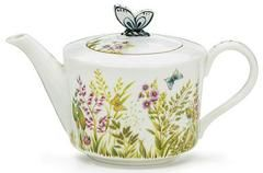 Majestic Meadow Teapot - Discount Teapots - Roses And Teacups