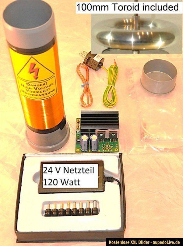 Details about 24V SSTC Solid State Tesla Coil Bausatz