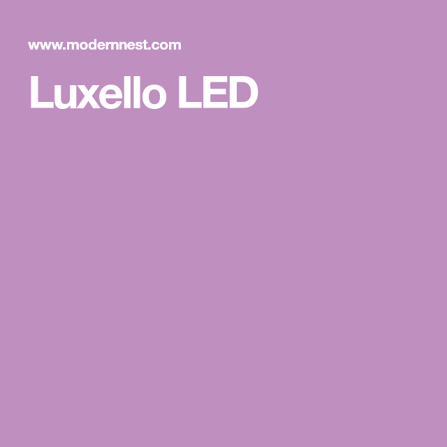 Luxello Led Led House Numbers Illuminated Signs Led
