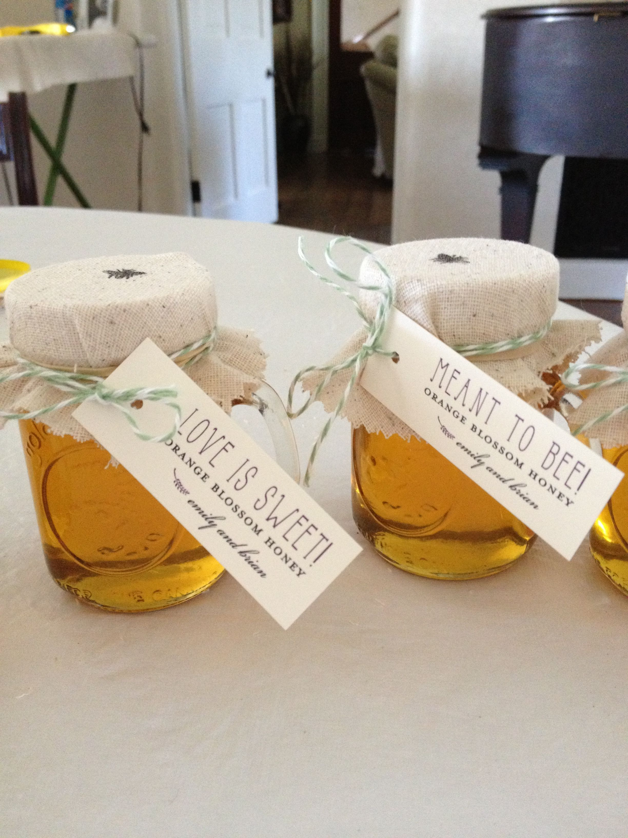 Honey favors | she\'s crafty | Pinterest | Favors, Woodsy wedding and ...