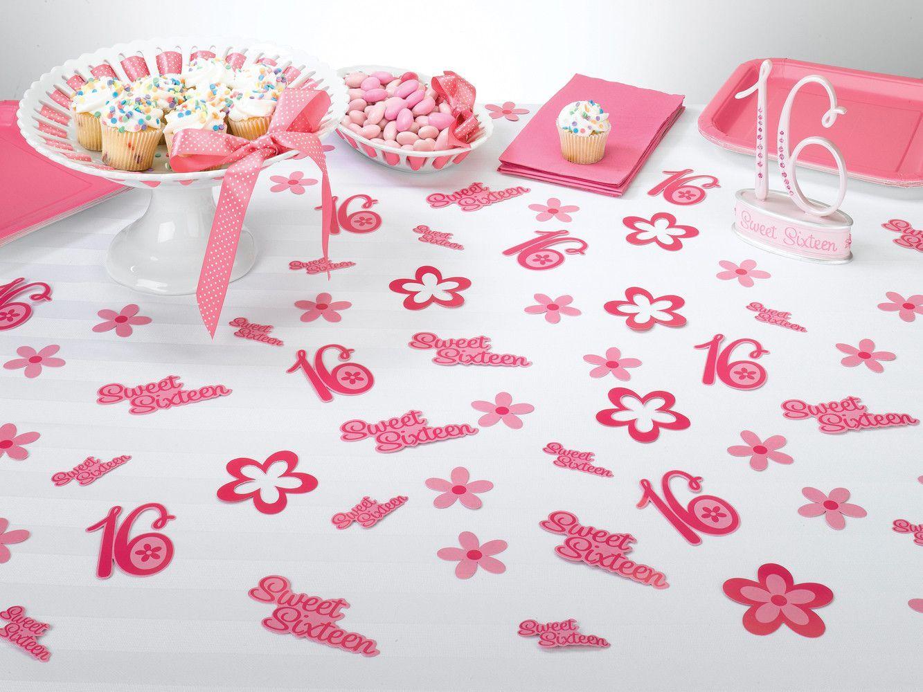 Sweet Sixteen Confetti