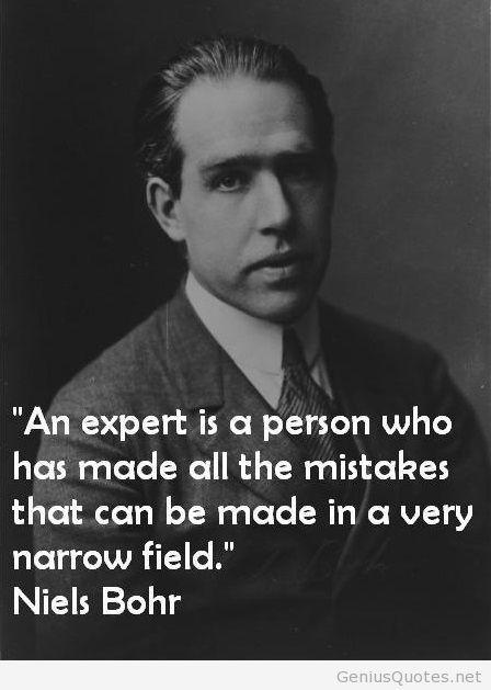 Niels Bohr messages