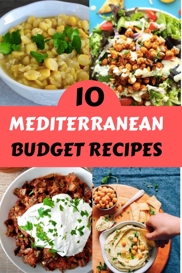 affordable mediterranean diet recipes