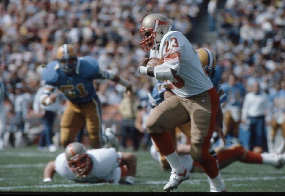 Birmingham Stallions RB Earl Grant 1983 USFL USFL