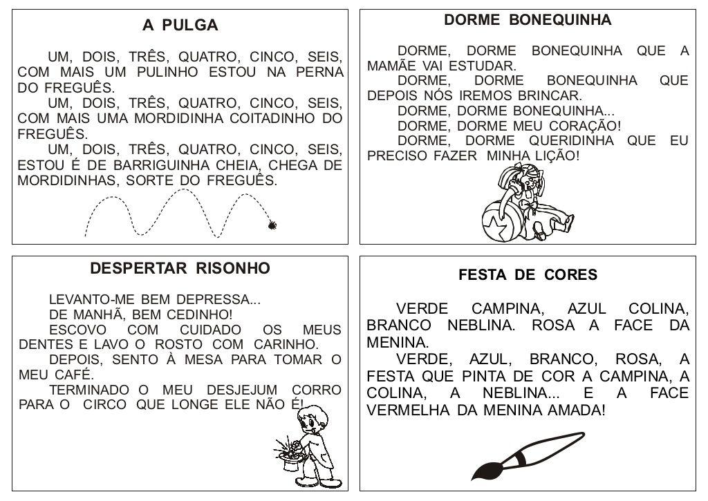 Pin Em Texto Alfabetizacao