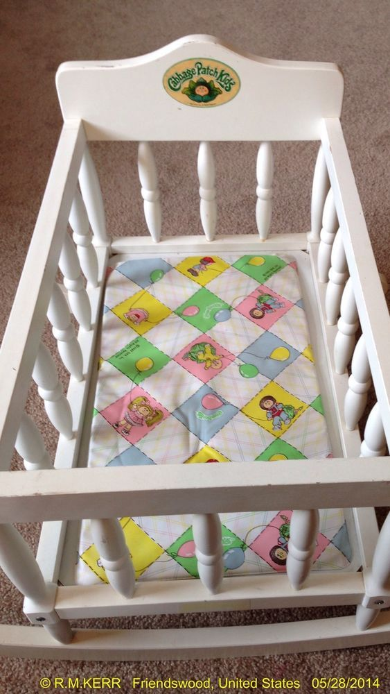 Details About Vintage Coleco Cabbage Patch Doll Furniture