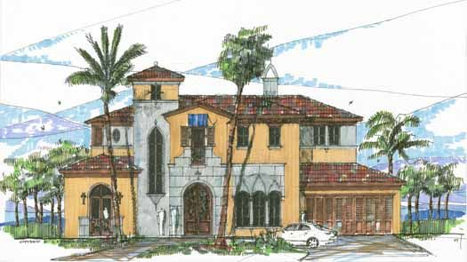 Italian Style House Plans italian style house plans - 5048 square foot home , 2 story, 5