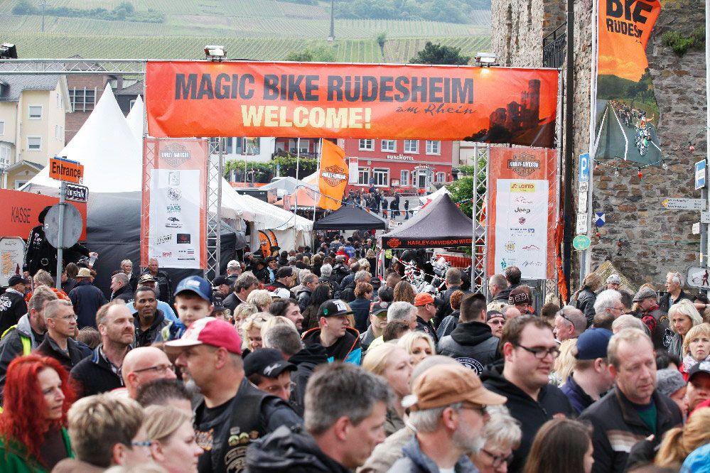 Vom 04.-07.06.15 findet eines der größten Harley Davidson Treffen in Europa in Rüdesheim am Rhein statt. Stuntshows, hochkarätige Top-Acts, Live Parties …