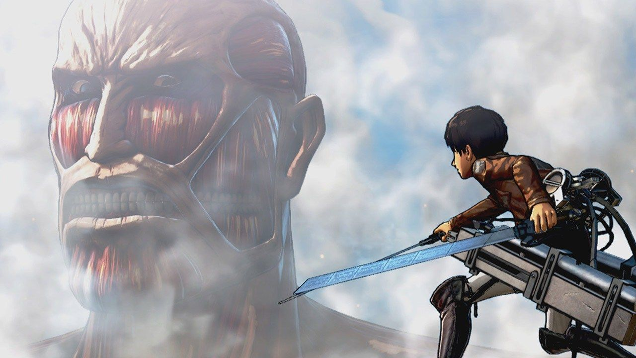 attack on titan review ign gaming pinterest