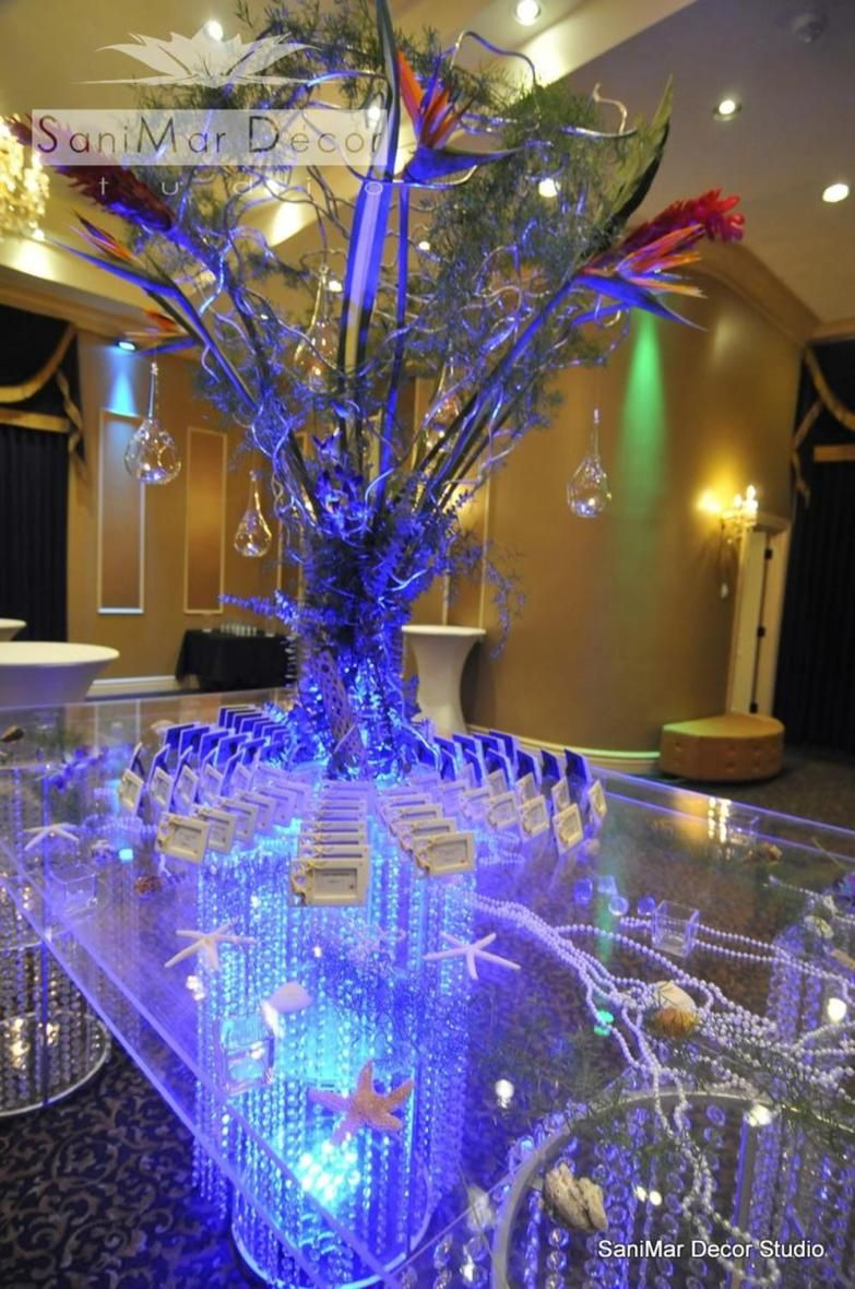 43 Stunning Under The Sea Wedding Centerpieces Ideas With Images