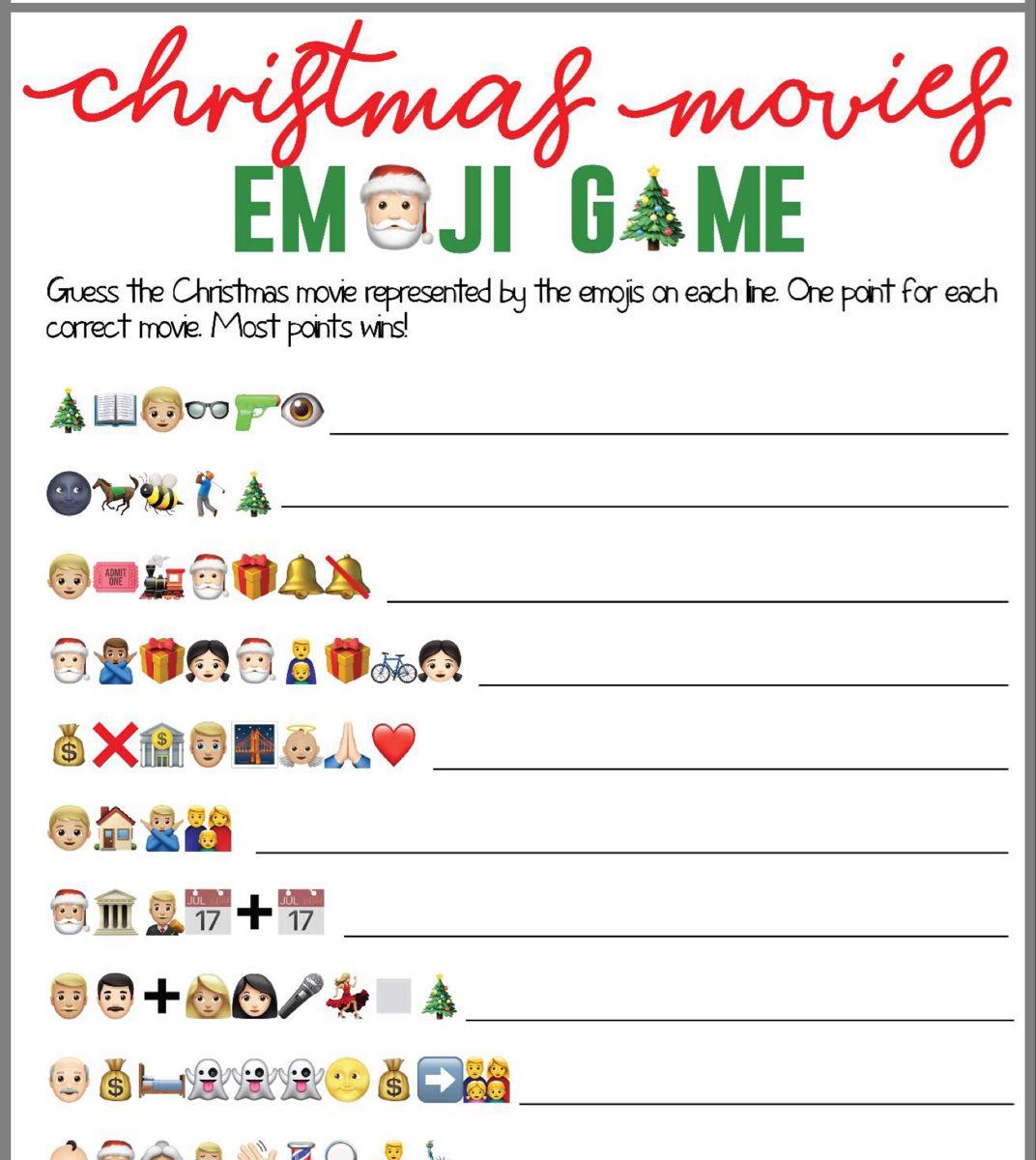 Pin By Joan Majors On Christmas Emoji Games Christmas Movies Christmas