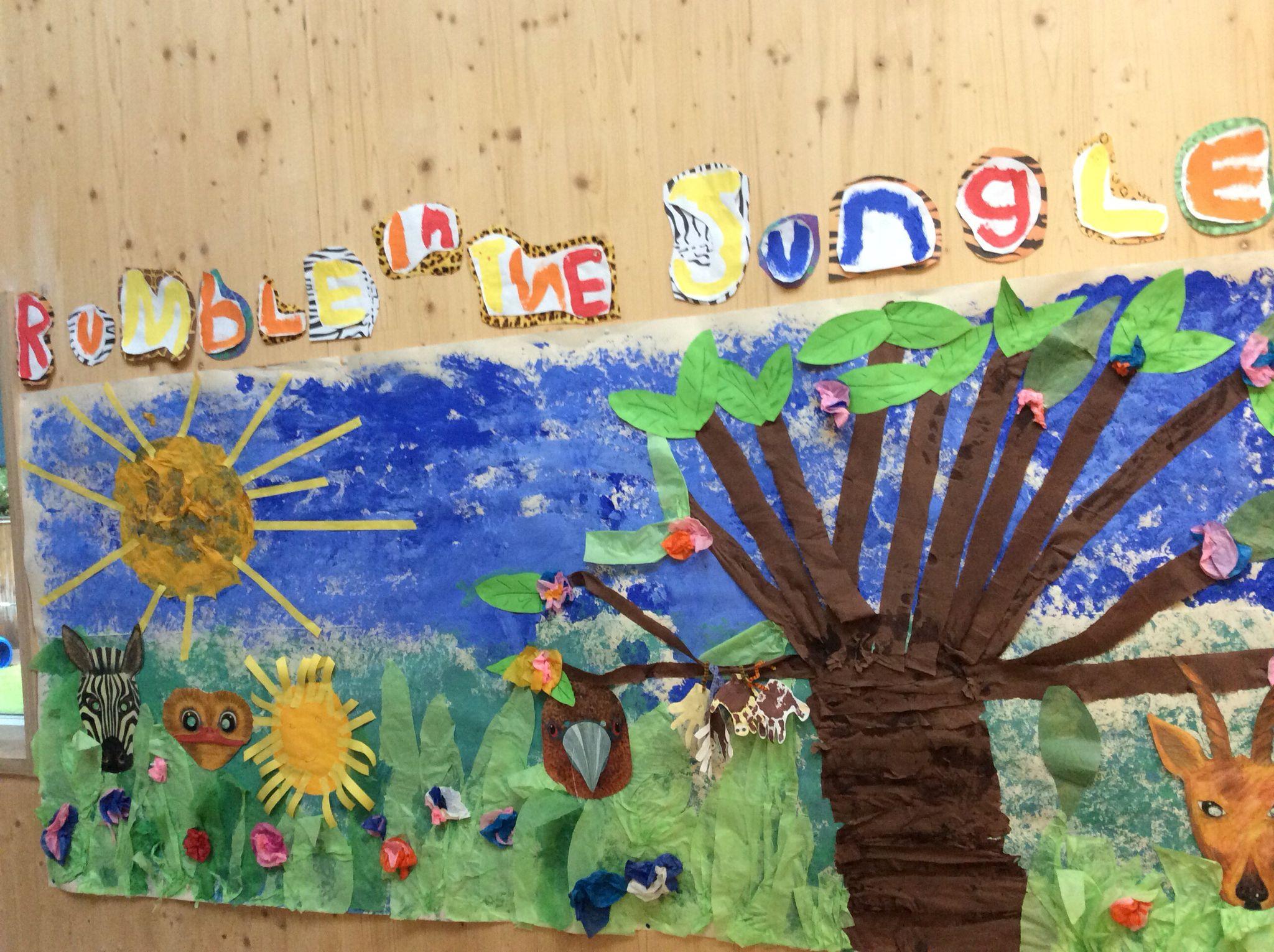 #Display #Jungle #Preschool #Children #Art #Edinburgh