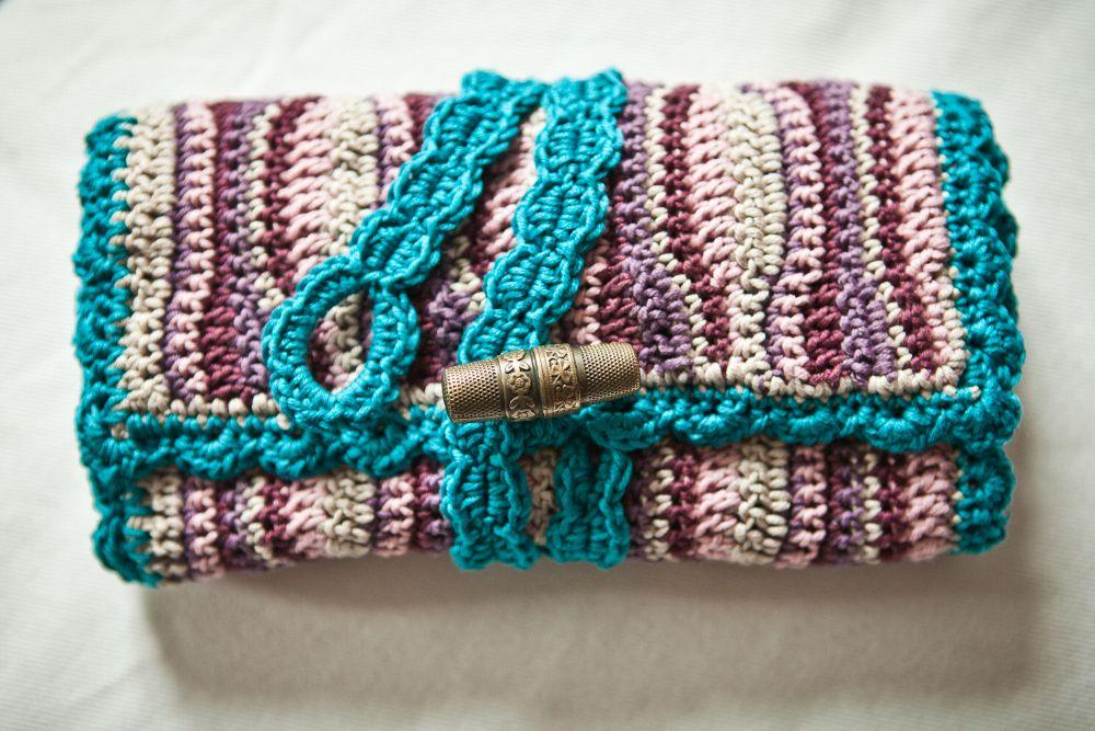sweetheartcrochet: Häkelnadeltasche / crochet hook case   Haken ...