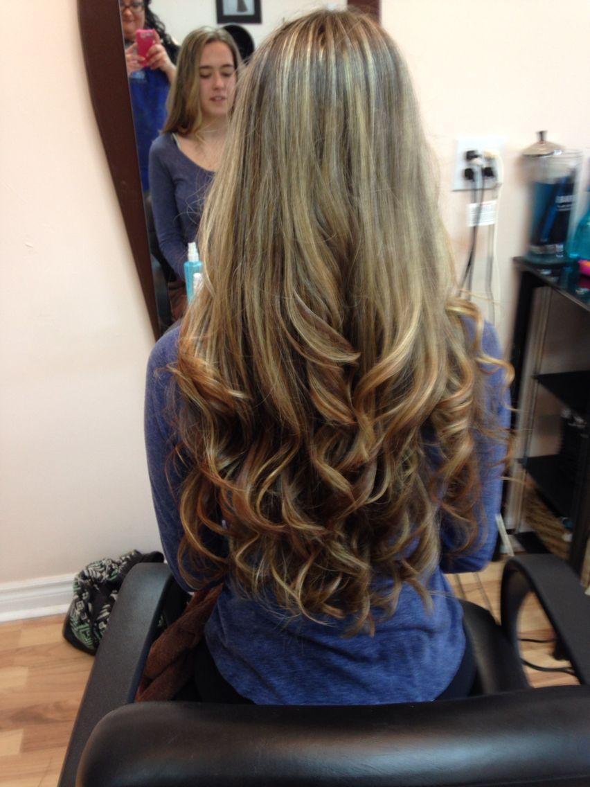 Long hair going lighter!