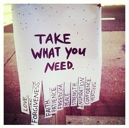 Take what you need don´t want to smile right now
