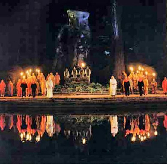 bohemian grove cremation of care - Google Search | Bohemian grove, People  of the world, Occult
