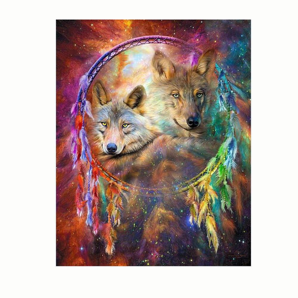 5552e8eee5 5D Embroidery Paintings Rhinestone Pasted diy Diamond painting Cross Stitch