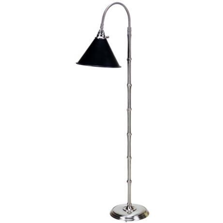 Frederick Cooper Satin Nickel Downbridge Floor Lamp