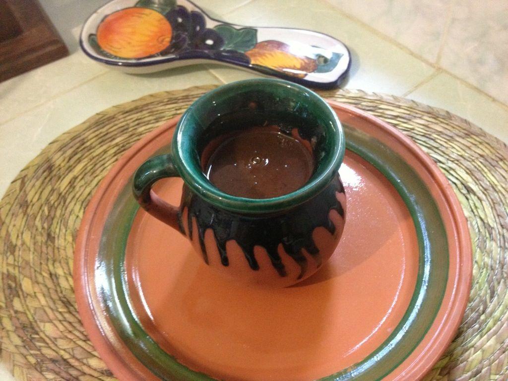 Chapurrado o atole de chocolate