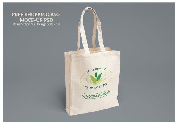 Download Free Eco Friendly Shopping Bag Mock Up Psd 2 Eco Friendly Shopping Bags Eco Bag Bag Mockup