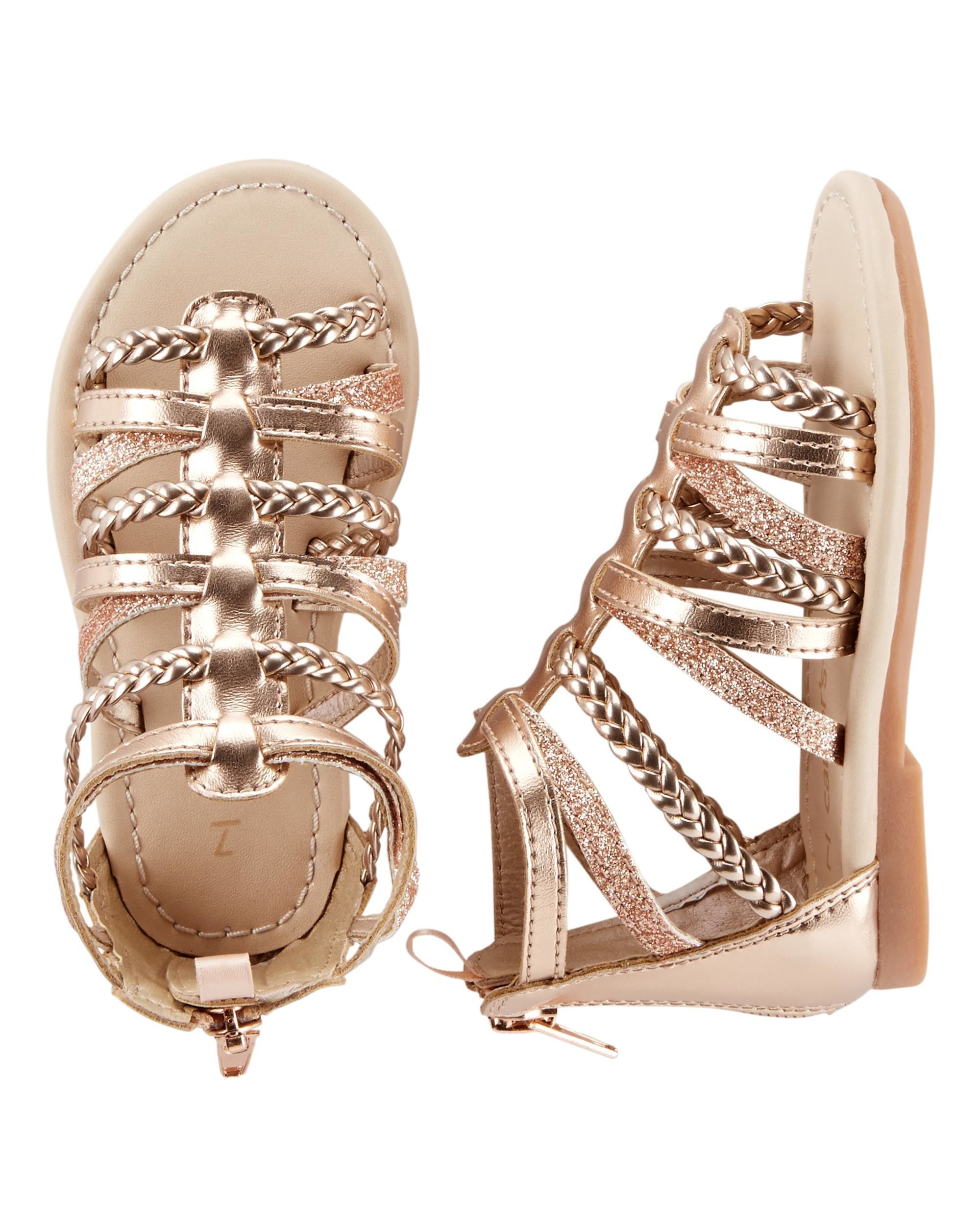d5ee09670c4 Baby Girl Carter s Gladiator Sandals