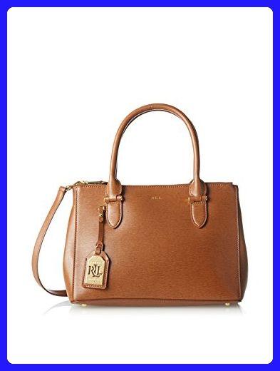 f1b65bef44807 LAUREN Ralph Lauren Women s Newbury Double Zip Shopper Lauren Tan Handbag -  Shoulder bags ( Amazon Partner-Link)