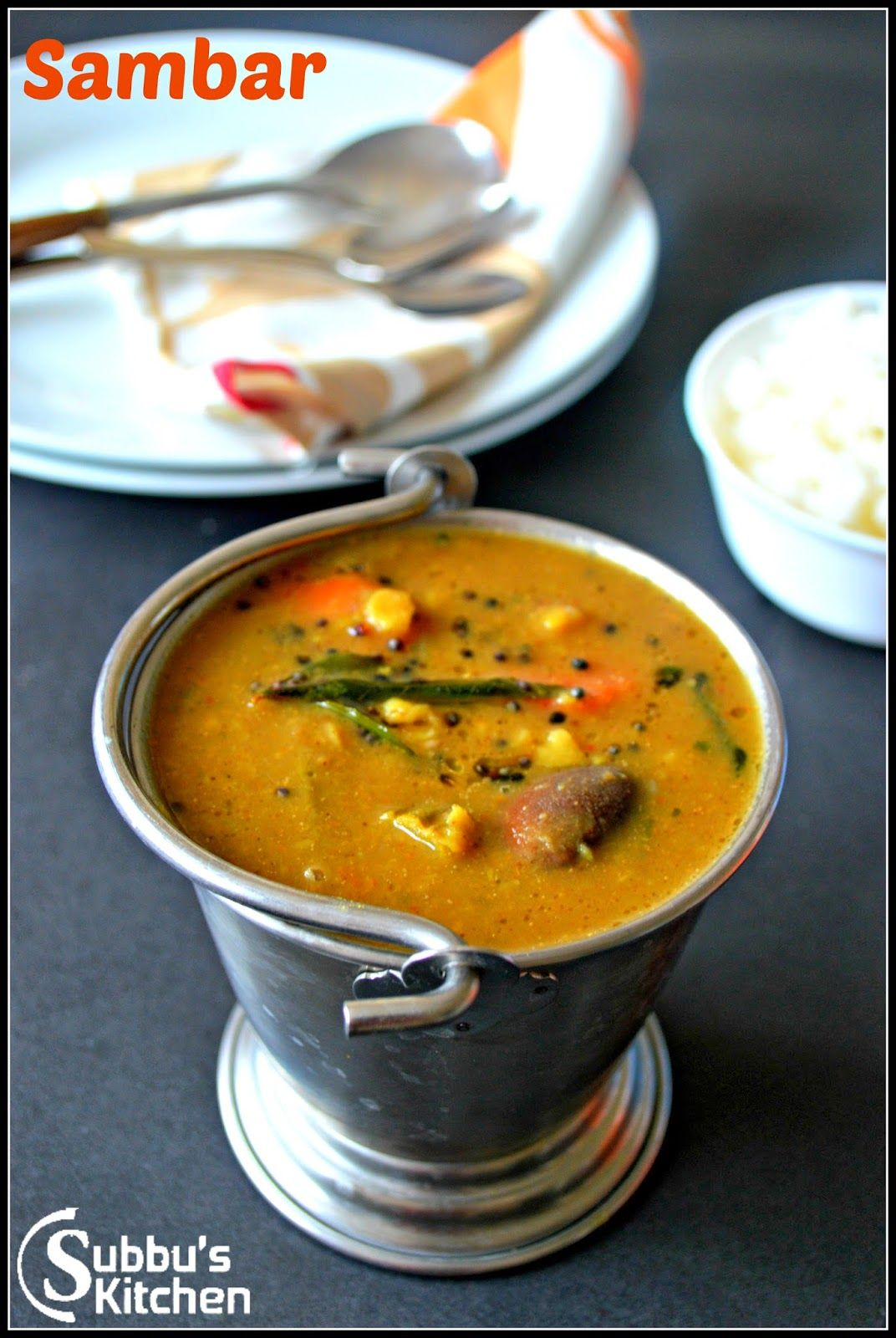 Subbus Kitchen Sambar Araithuvita Sambar Recipes Cooking Recipes Indian Cooking