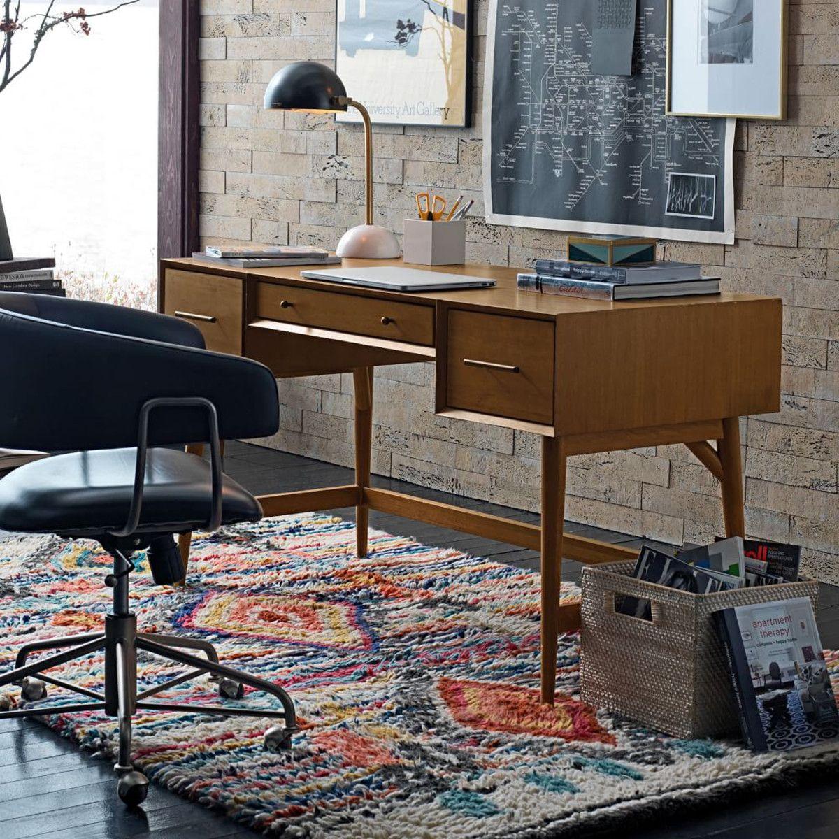 Mid Century Desk Acorn West Elm Au