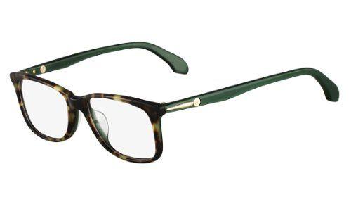 4a07dce8579 Calvin Klein CK CK5750 Eyeglasses CK5750 507 Havana Green Demo 51 17 140 Calvin  Klein http