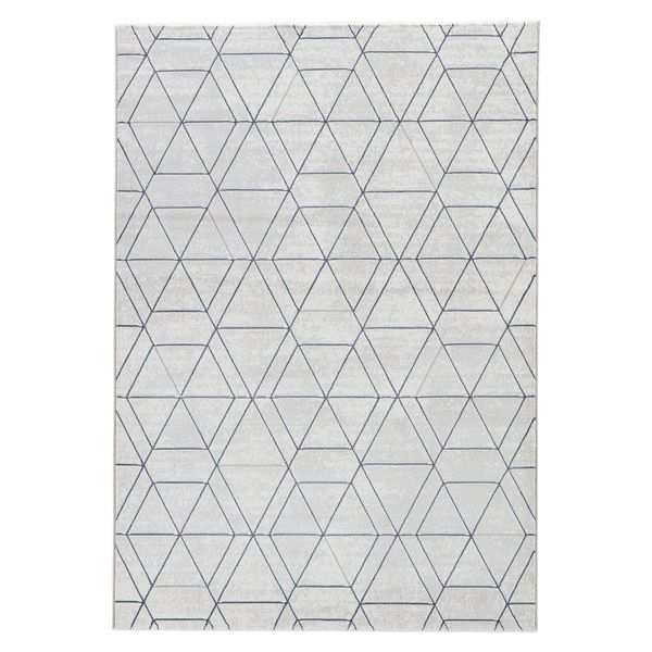 Modern Geometric Pattern Brown Neutral Polypropylene Area Rug 5 3 X 7 6 Ping The Best Deals On 5x8 6x9 Rugs