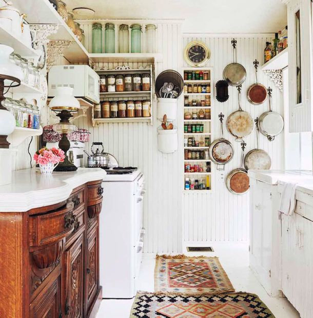 Cottage Kitchen Angeles: At Home With: Theadora Van Runkle, Laurel Canyon, Los Angeles