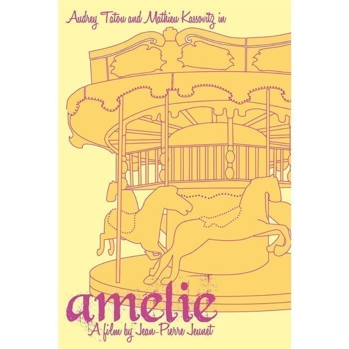 Movie poster Amelie 12x18 inches by claudiavarosio on Etsy  A very special birthday gift