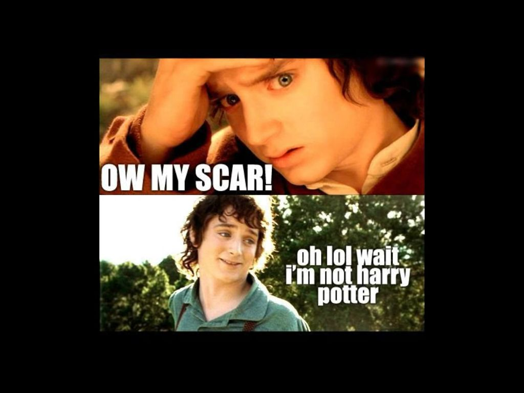 harry potter vs frodo baggins