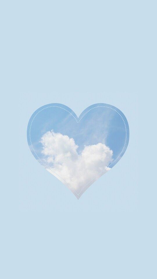 Lovely Sky iPhone Wallpaper from Line Deco