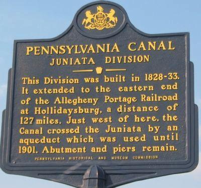 Pennsylvania Canal Marker Pennsylvania History Historical Marker American History Museum