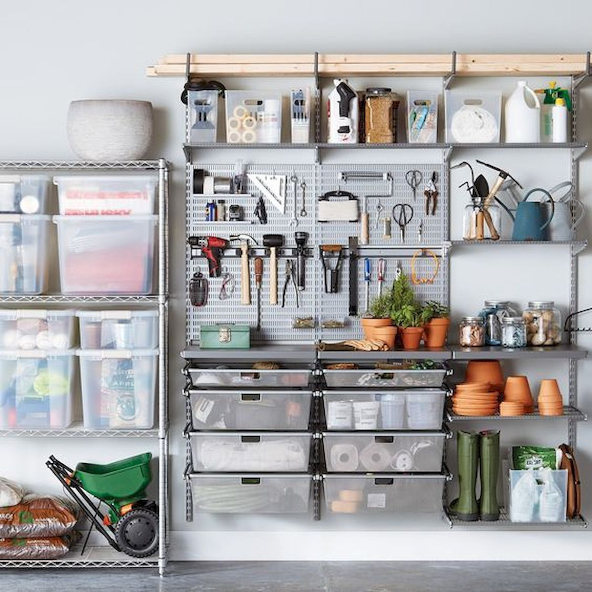 Pin By Julia Rickert On For Jason In 2020 Shop Shelving Garage