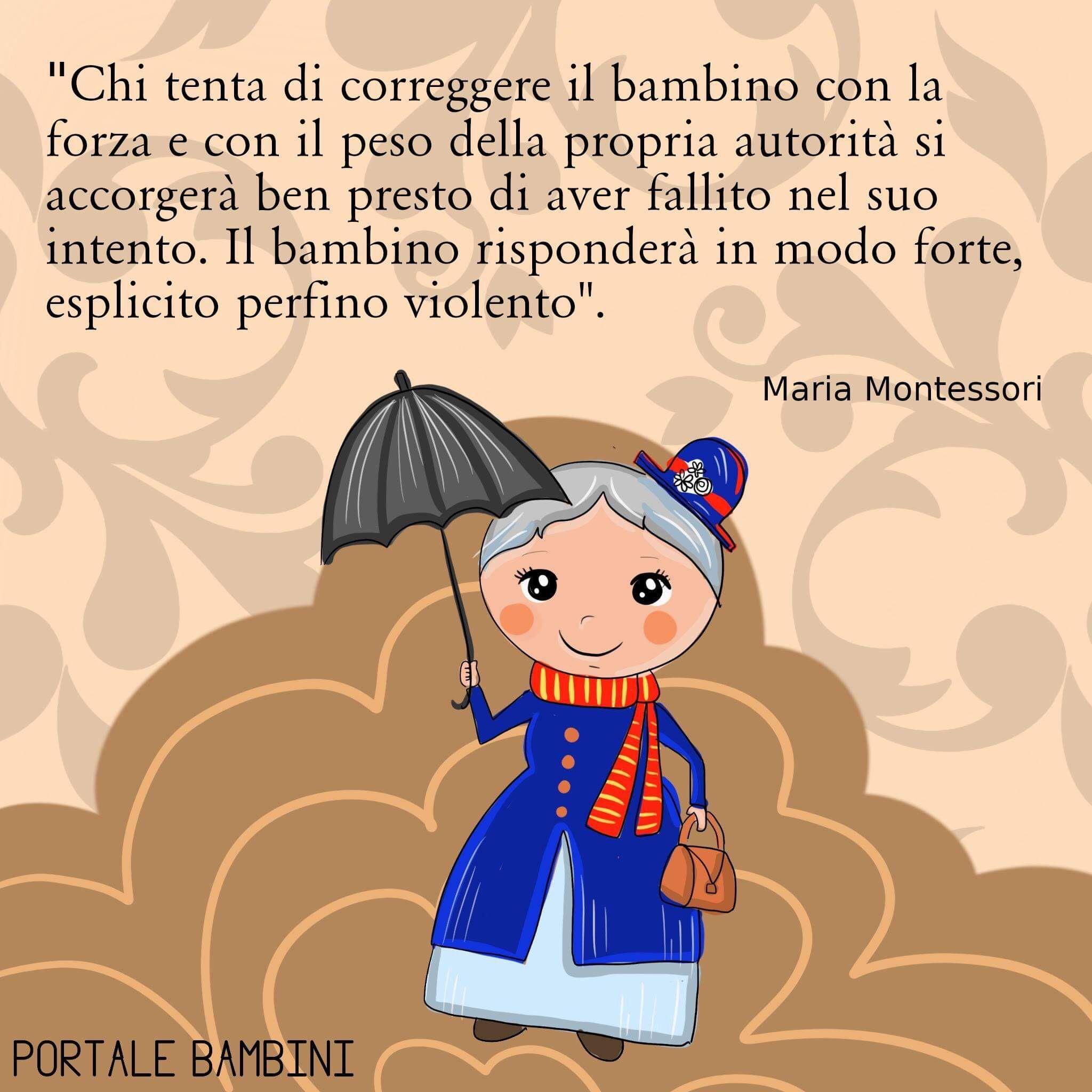Le Frasi Piu Belle E Significative Di Maria Montessori Citazioni