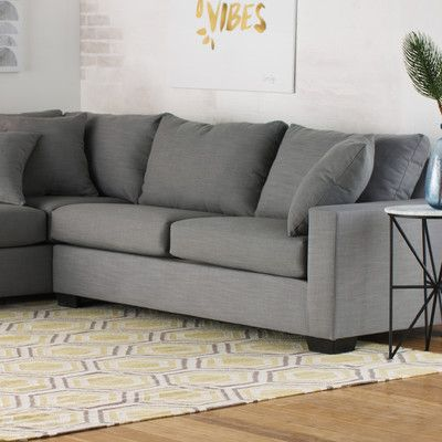 Stupendous Loukianos Left Hand Facing Sectional Sectional Sofa Pdpeps Interior Chair Design Pdpepsorg
