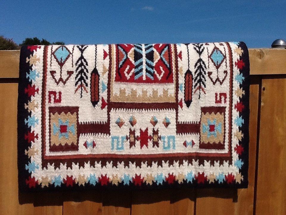 G68 Alpaca Yucca Flats Saddle Blanket Saddle Blanket