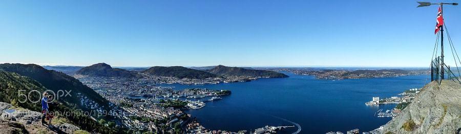 #500px Select #Photography : Panorama over Bergen taken from Sandviksfjellet by HenrikJuhlin  https://t.co/sGldAkjLIi #followme #photography