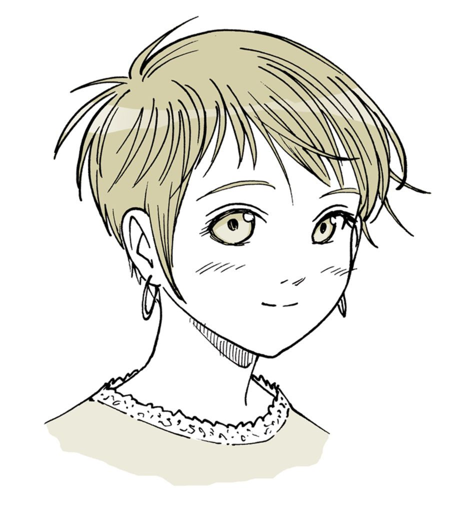 Anime Hair Manga Hair How To Draw Short Hair Drawing