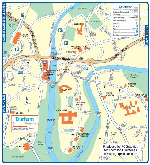 Map Of England Durham.Pin By Simpson Kirkpatrick Historian On North East England Maps