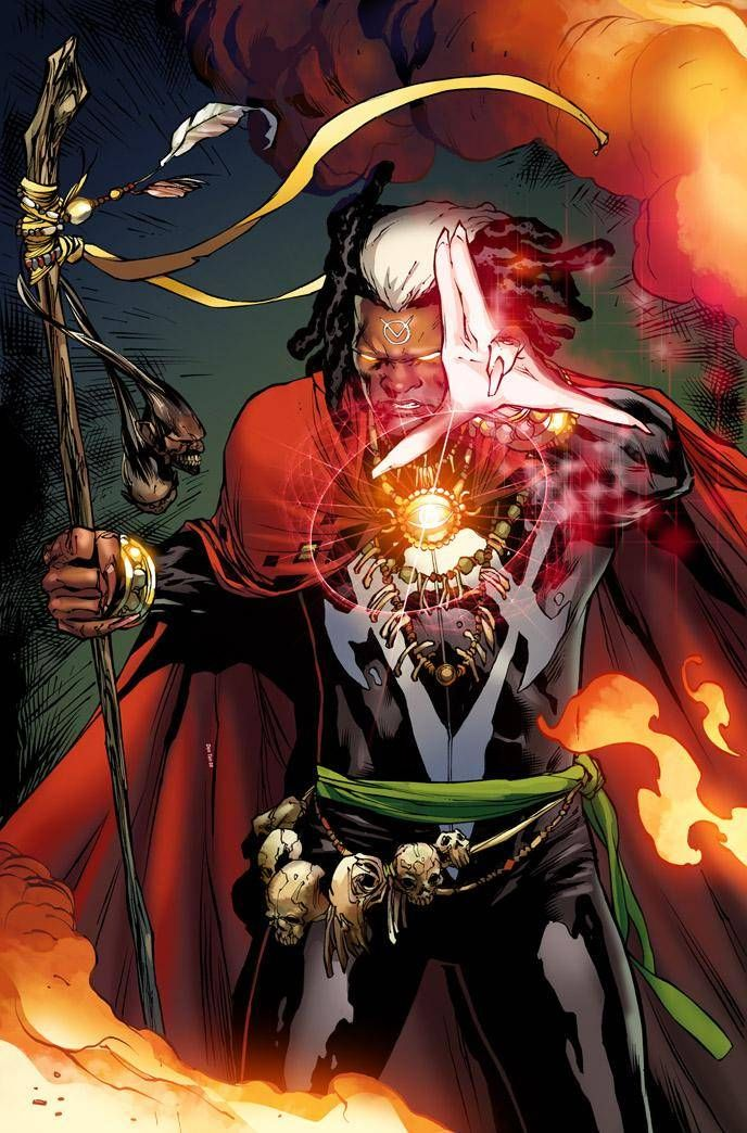 Jericho Drumm aka Doctor Voodoo by Billy Tan   Brother voodoo, Black comics, Superhero comic