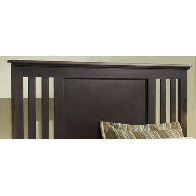 Carolina Furniture Works, Inc. Premier Panel Headboard Size: Full, Finish:  Espresso