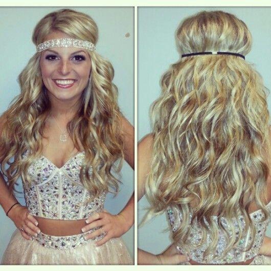 prom hair wedding hair long hair wavy hair curly hair